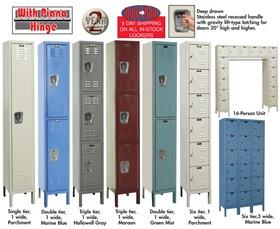 PREMIUM LOCKERS - 1-WIDE UNITS